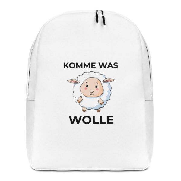"Rucksack ""Komme was Wolle"""