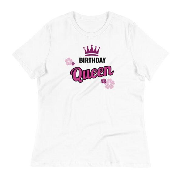 """Damen-T-Shirt """"Birthday Queen"""""""