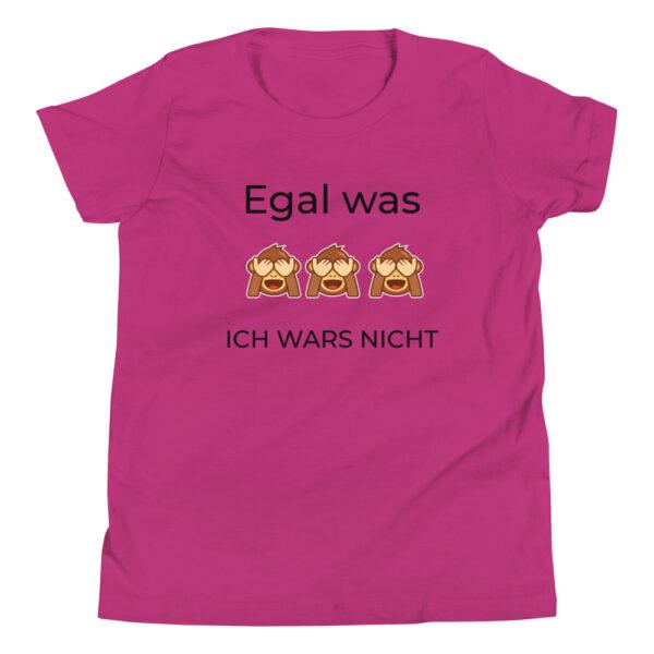 """Kinder-T-Shirt """"Egal was, ich wars nicht"""""""