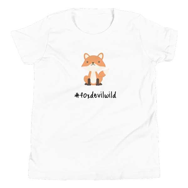 """Kinder-T-Shirt  """"Foxdevilwild"""""""